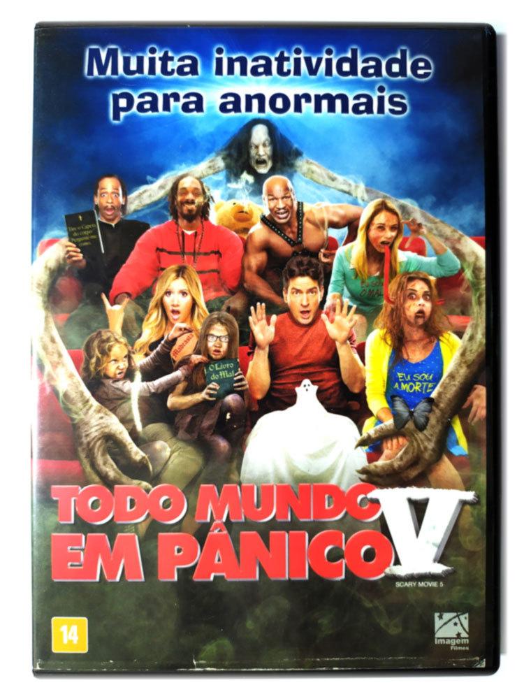 Dvd Todo Mundo Em Panico V Scary Movie 5 Ashley Tisdale Original Malcolm D Lee Charlie