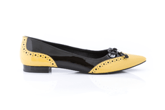 LUCY - BLACK / YELLOW - comprar online