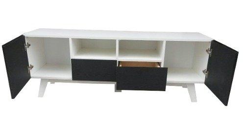 Rack Moderno Mueble Para Tv Comprar En Melpar Muebles