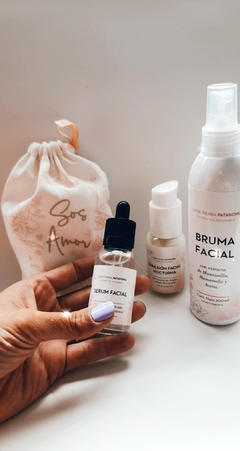 KIT MAMA TE AMO : BRUMA FACIAL + SERUM FACIAL + EMULSION FACIAL NOCTURNA