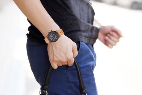 52135789a23 Relógio Quartzo G.Army - Estilo militar