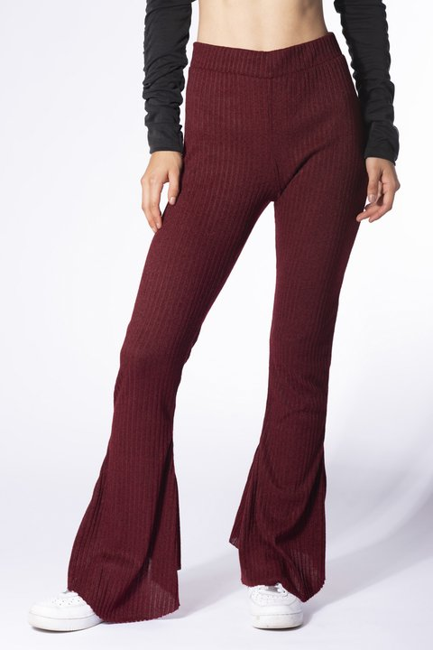 PANTALON RAZON BORDO