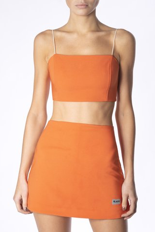 CROP TOP WINONA NARANJA