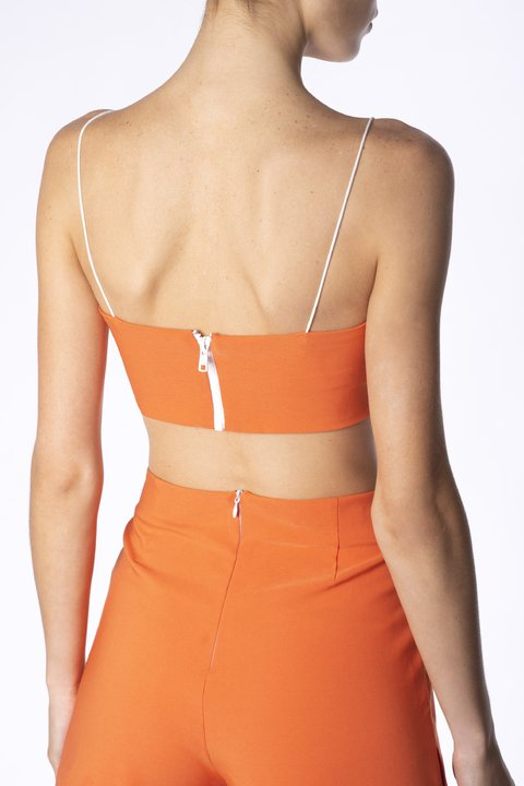 CROP TOP WINONA NARANJA en internet