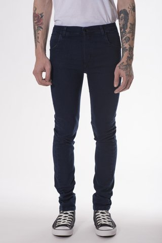JEAN SUPER SLIM DARK RAVEN