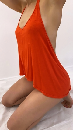 Top Saturno Orange - comprar online