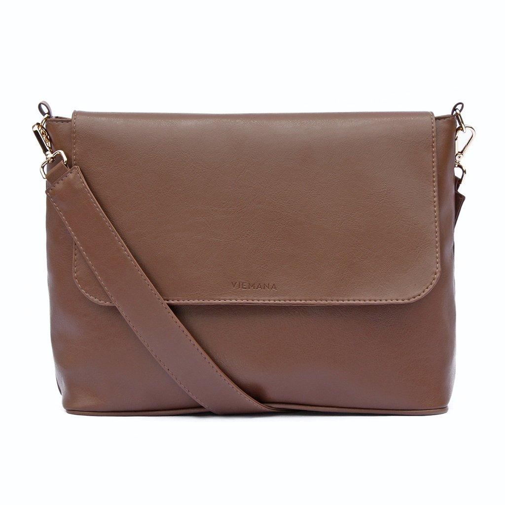 14977d788 Bolsa Flap Caramelo - Comprar em VIEMANA