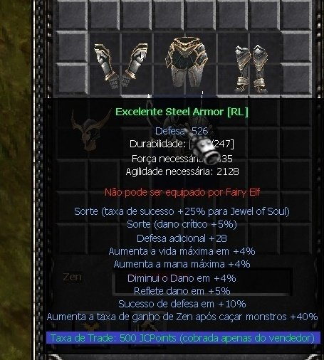SET STEEL FULL + 00