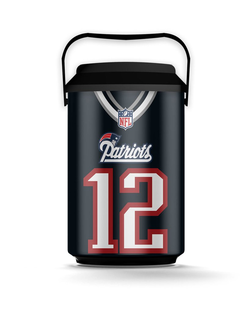 b66ffde7ef Cooler 10 Latas NFL - Patriots - Sala do Nerd