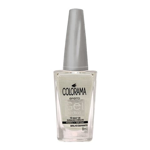 Esmalte Gel 10 dias Colorama - Top Coat Brilho - 8ml
