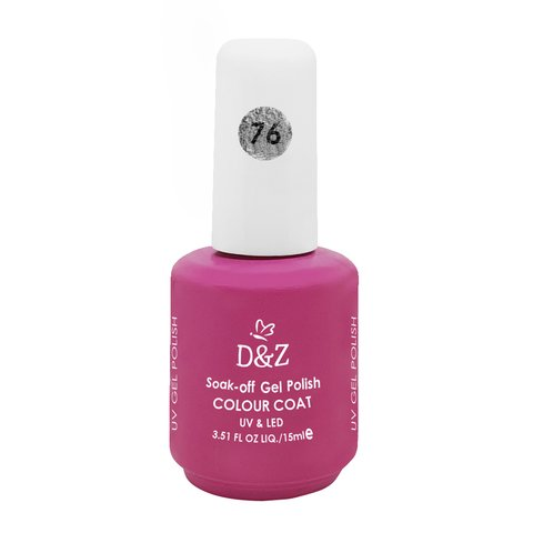 Esmalte D e Z Colorido Colour Cout Uv/Led Gel Polish 76 15ml