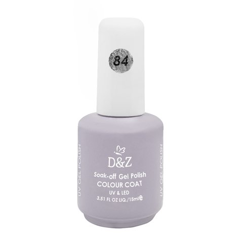 Esmalte D e Z Colorido Colour Cout Uv/Led Gel Polish 84 15ml