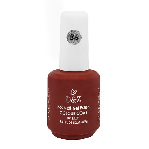 Esmalte D e Z Colorido Colour Cout Uv/Led Gel Polish 86 15ml