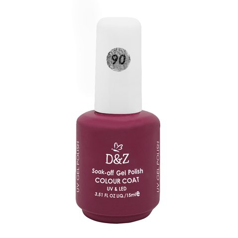 Esmalte D e Z Colorido Colour Cout Uv/Led Gel Polish 90 15ml