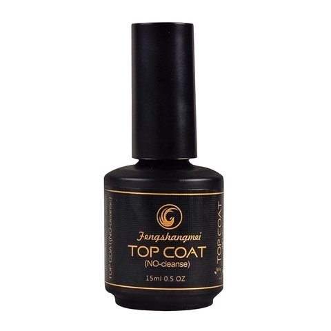 Top Coat Fengshangmei Selante Pretinho do Poder 15ml