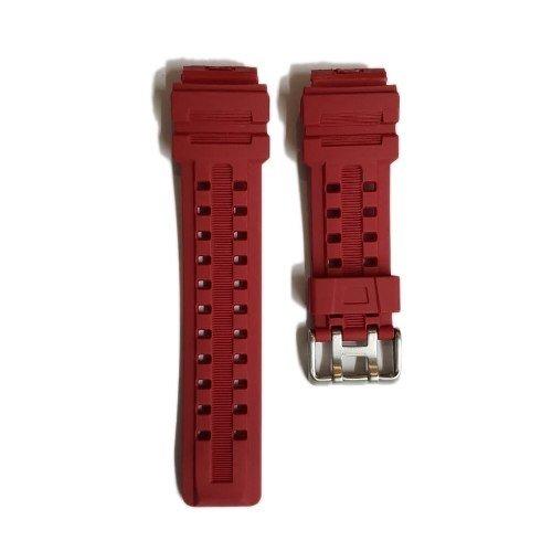 84aa78832c9d Malla Correa Reloj Tressa Ewan Color Rojo