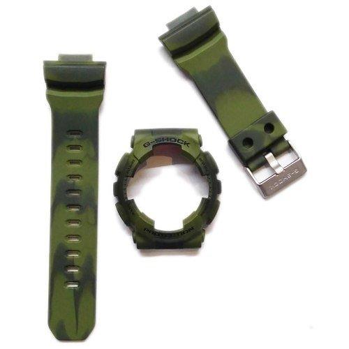 fe49b3d19e54 Malla + Bezel - Reloj Casio G-shock Ga 100mm 3a