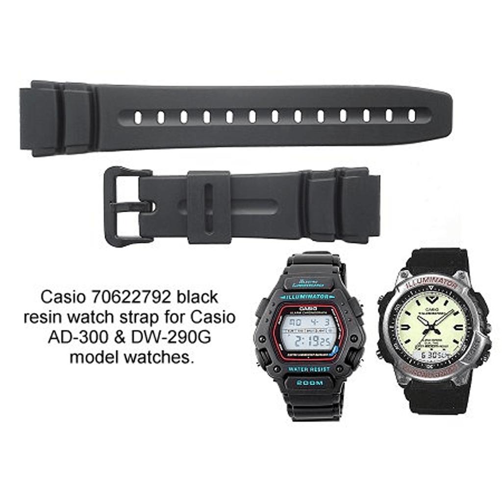 78bacfdefbe3 Malla Correa Reloj Casio Ad300   Dw290