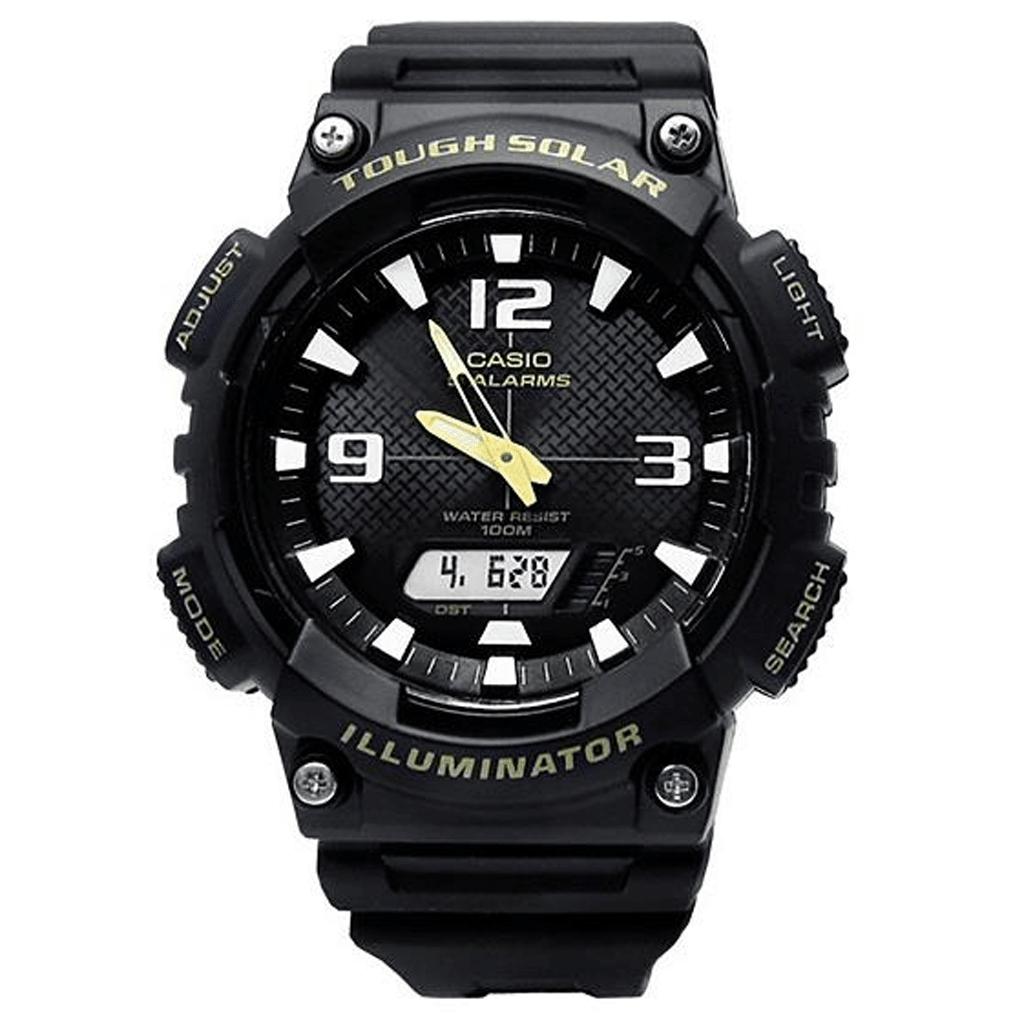 132cb2b6de96 Reloj Casio Aq-s810w-1b Hombre Carga Solar