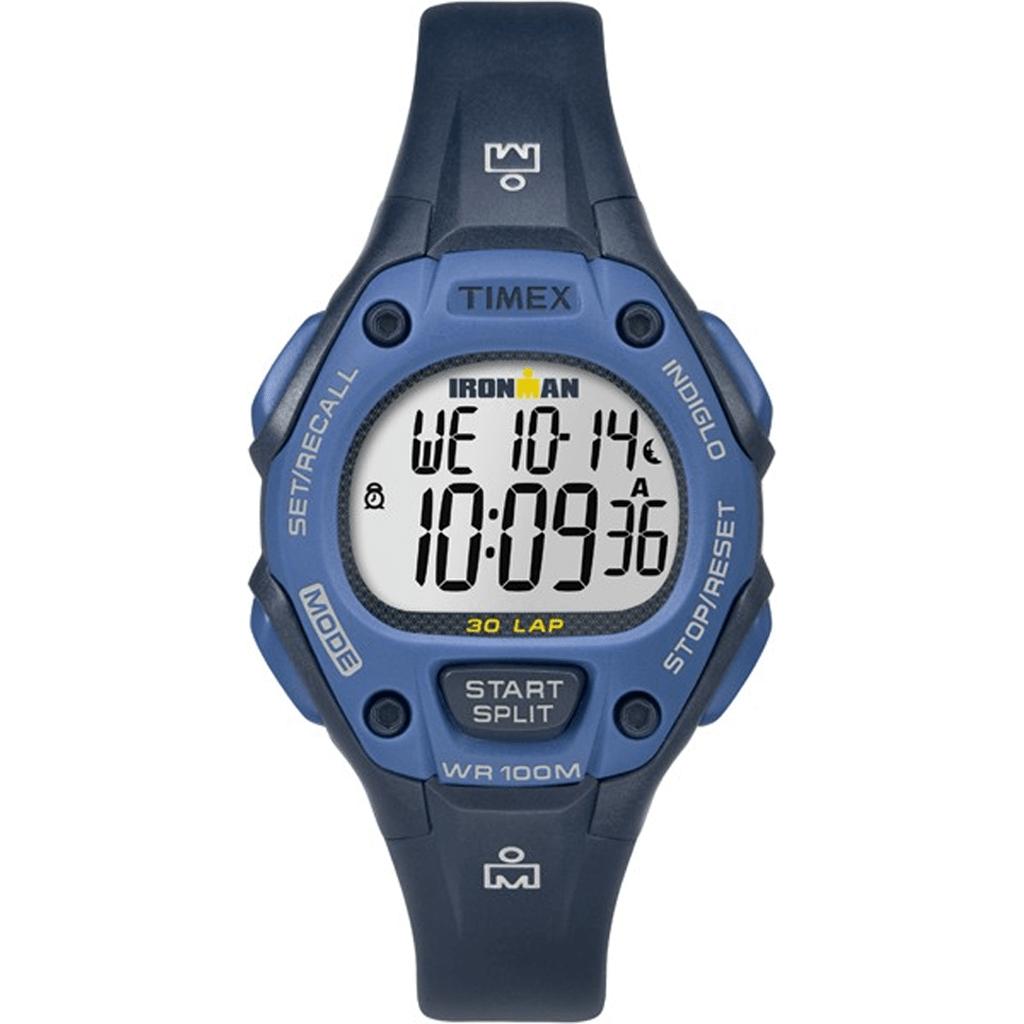 c7f760cfa50d Reloj Timex Ironman 30 Lap Modelo Tw5m14100 Blue purple