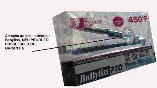 3a55e0303 Prancha Nano Titanium Babyliss Pro Fina 1
