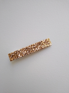 Trio Hair Clip - Bronze - Dourado - Frutacor na internet