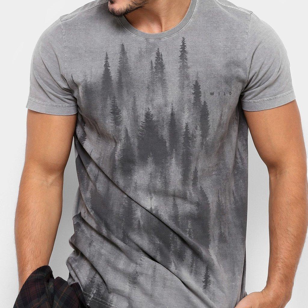 4d8fc40a8a505 Camiseta TREEBO Forest Masculina - Armazém Paraiba