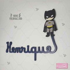 BATMAN NOME MDF DECORATIVO