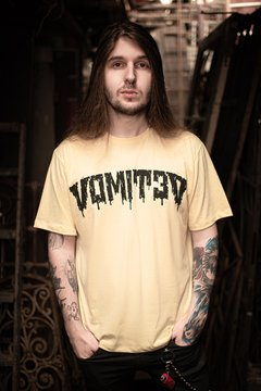 Camiseta - Milk Demon Amarelo - Vomit3d