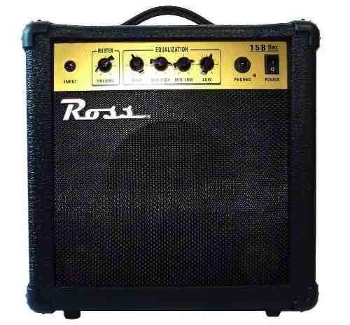 Amplificador Ross B15 P/bajo 15w Unplugged Music