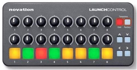 Pad Usb Novation Launch Control Colores