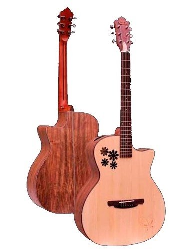 Guitarra Acustica Sx - Qt-is Spru .unplugged Music