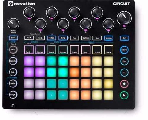 Novation Circuit Maquina Ritmos House Electro