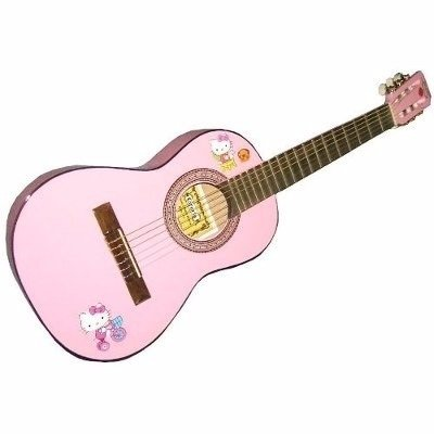 Guitarra Criolla Clasica Gracia Modelo Niño Hello Kitty