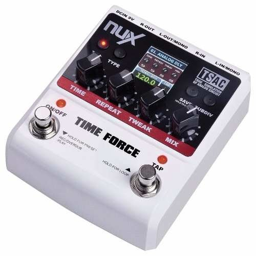 Pedal Efecto Nux Time Force Delay