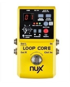 Pedal De Looper Nux Loop Core