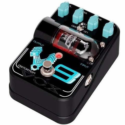 Pedal Vox V8 Distortion Valvular De Distorsion Para Guitarra