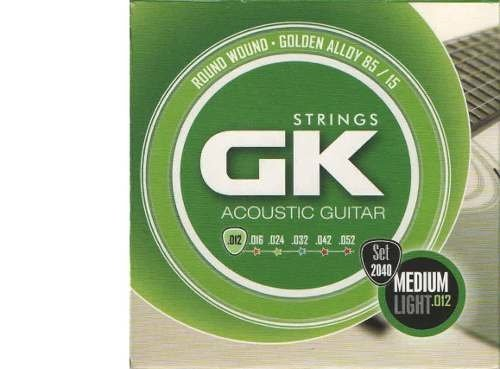 Encordado Gk 85/15 Set 2040/12 010 046 G Acustica 12 Cuerdas