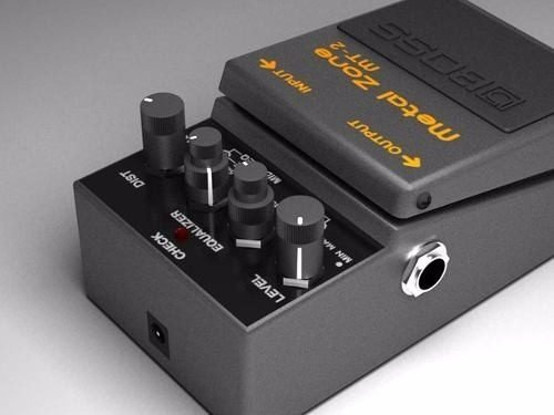 Pedal Boss Metal Zone Mt-2 Distorsion