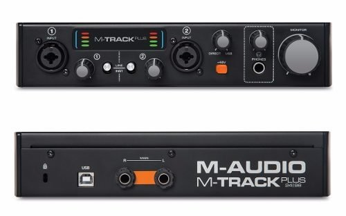 Placa Sonido M-audio Mtrack Plus Ii Protools