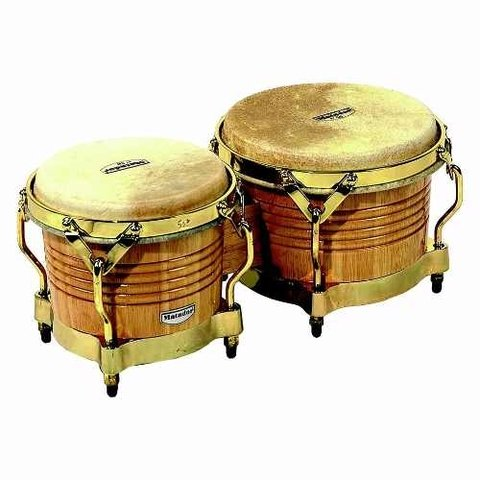 Bongoe Matador Lp M201aw Latin Percussion Dark Wood