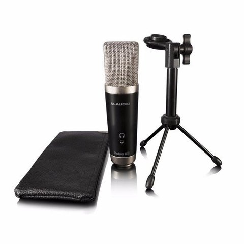Kit Grabacion M-audio Vocal Studio Micrófono Condensador Usb