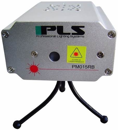 Laser Pls Pm015rb Decorativo Multipuntos Verde Y Azul 160mw