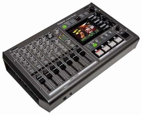 Roland Vr 3ex Mixer Audio Y Video Todo En Uno Usb