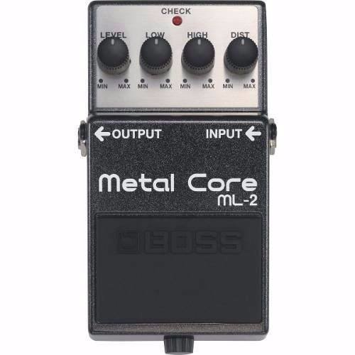 Pedal De Distorsion Boss Metal Core Ml-2 Nuevo Para Guitarra