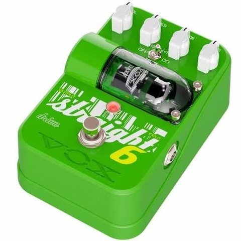 Pedal Vox Straight 6 Drive Overdrive Valvular P/ Guitarra
