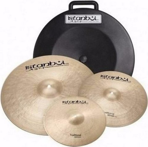 Set De Platillos Istanbul Traditional Hihat Y Ride S/crash