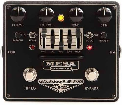 Mesa/boogie Pedal Throttle Box Eq Overdrive Distortio