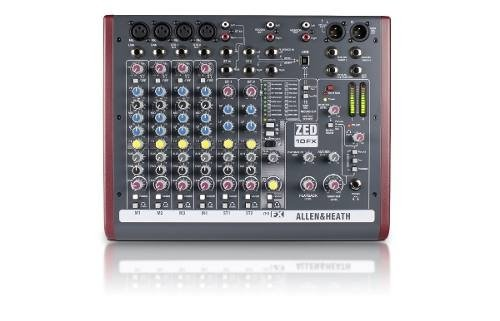Consola Allen & Heath Zed-10fx 10 Canales Usb