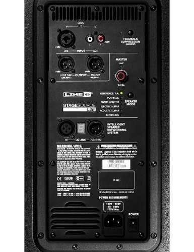Line 6 Stagesource L2m Bafle Potenciado 2 Vías 800w 1x10 en internet